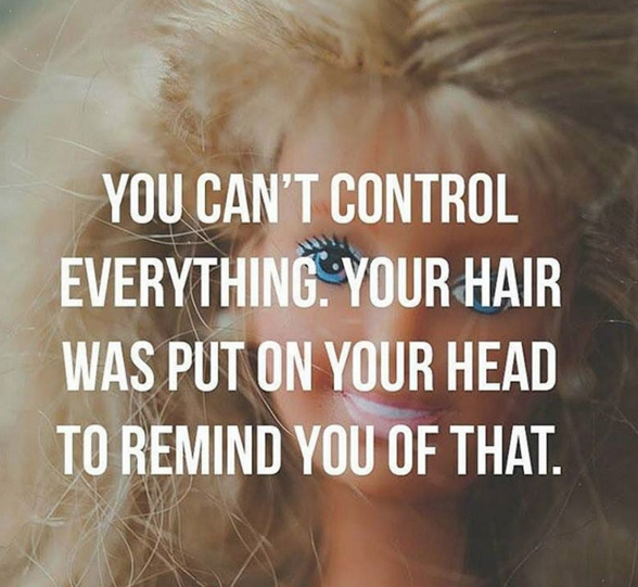 Oh, and on top of the static, you have to deal with frizziness — so each day is a blur of constant tangles and knots that you'll never escape.