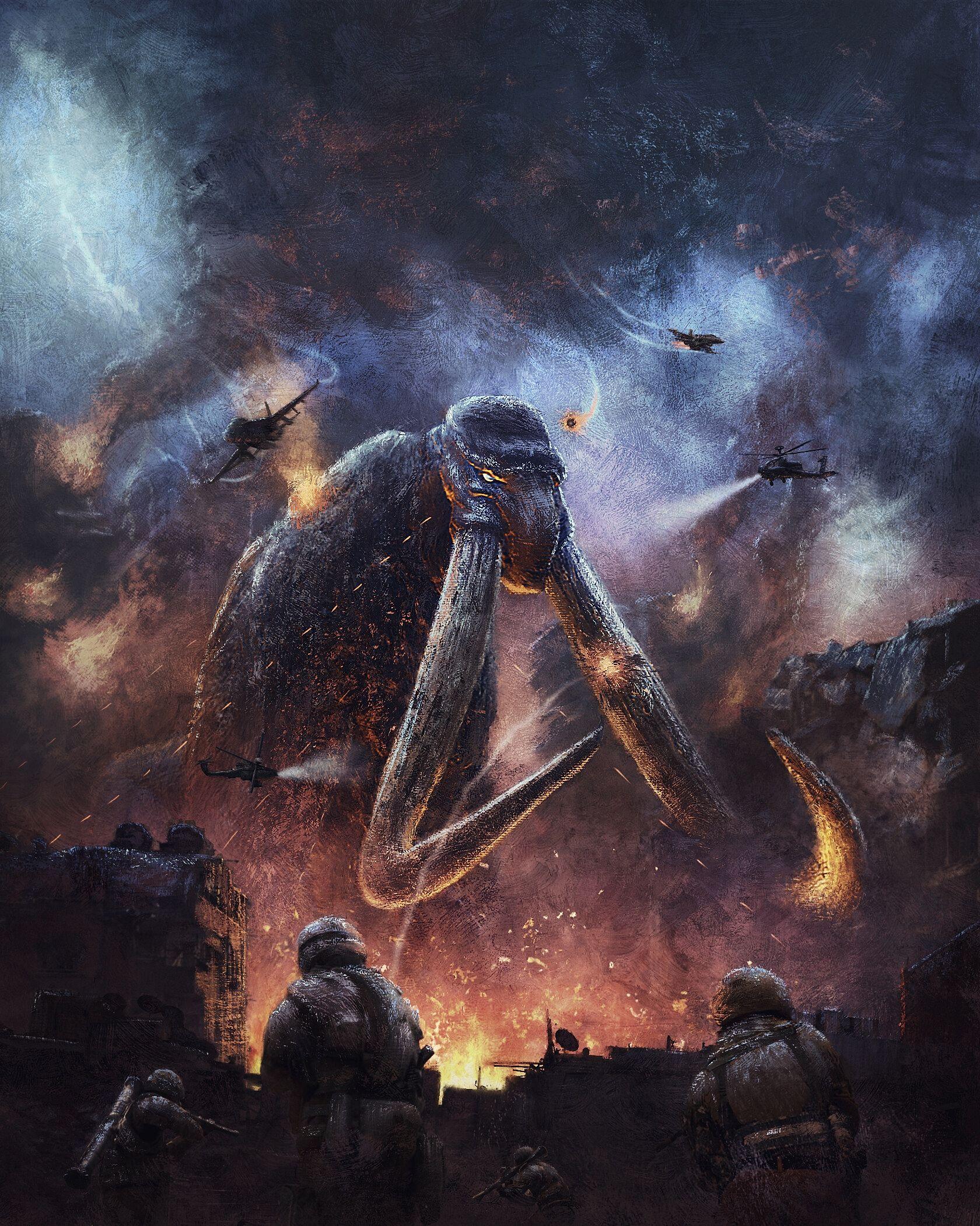 Titanus Behemoth Alex Crow Godzilla, All godzilla