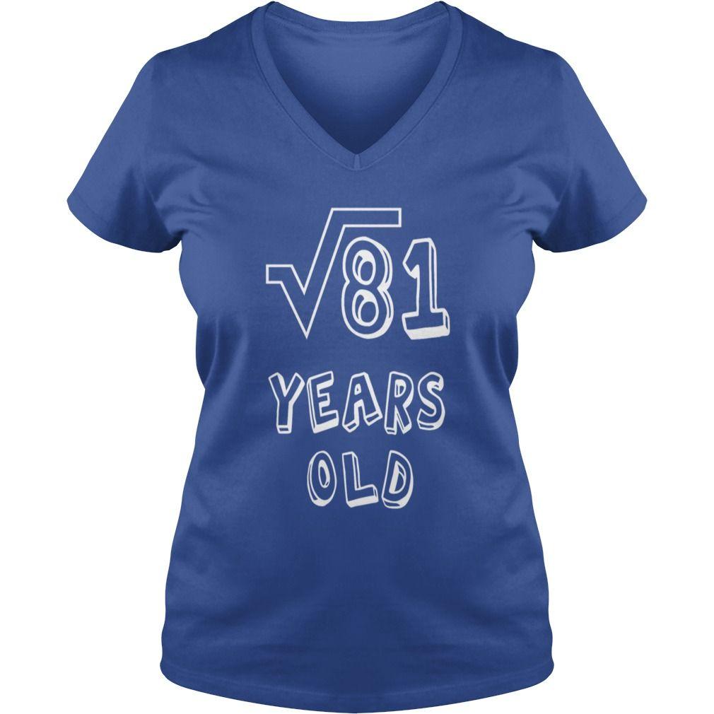 Square root of th birthday years old kids premium tshirt