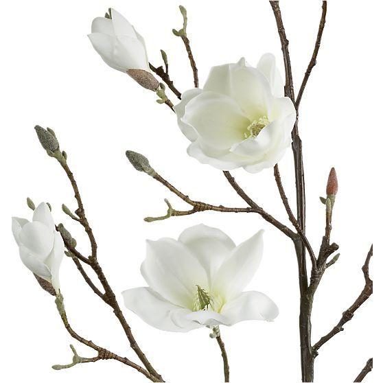 Magnolia Branch Magnolia Flower Magnolia Branch Artificial Flowers