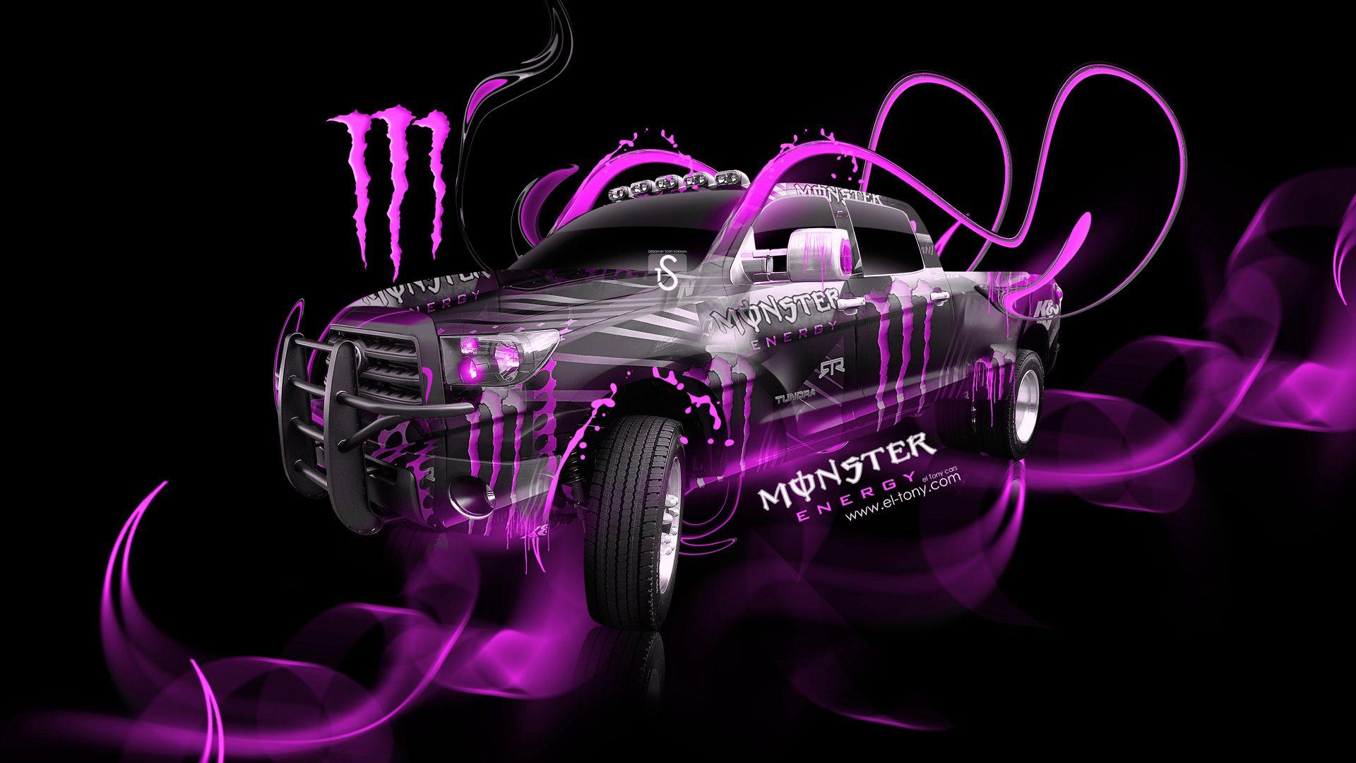 Pink Monster Energy Logo | Pink Monster Energy Wallpaper Monster Energy  Toyota Tundra