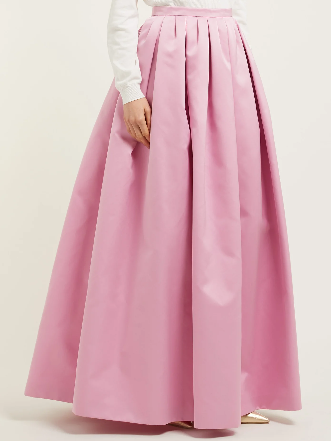 High-rise duchess satin maxi skirt | Rochas | MATCHESFASHION US #duchesssatin