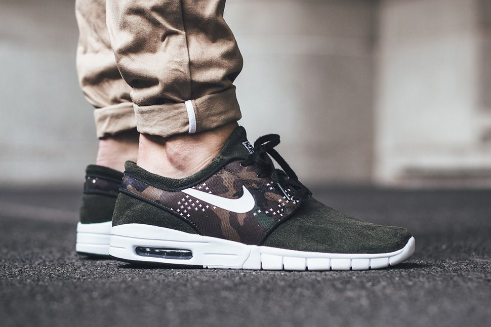 "Nike SB Stefan Janoski Max Suede ""Camo"" (Flash Pack)"