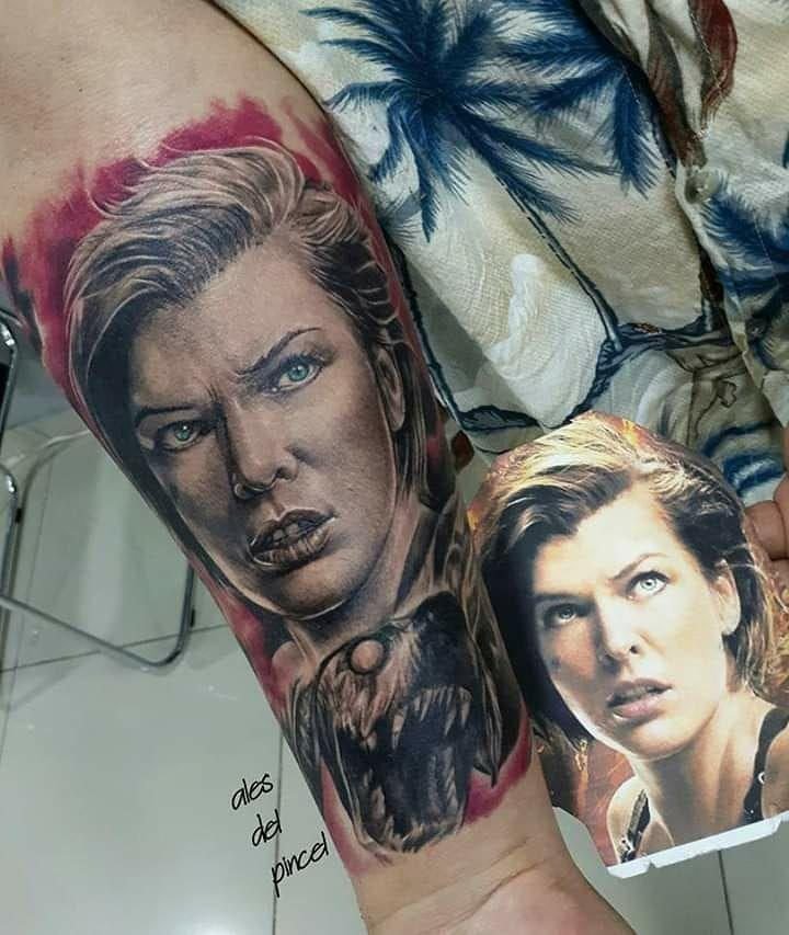 Tattoos del ayer 017 - trabajo de la 5ta.convención de tatuajes  de Santa Cruz -