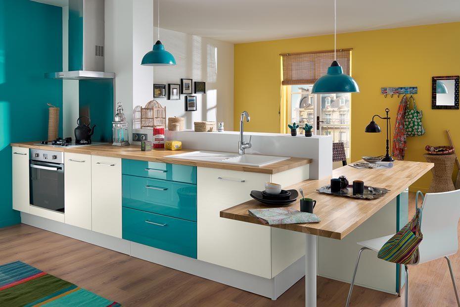 Lossy lagune brillant melt blanc stri socoo 39 c maison cuisine pinterest - So cooc cuisine ...