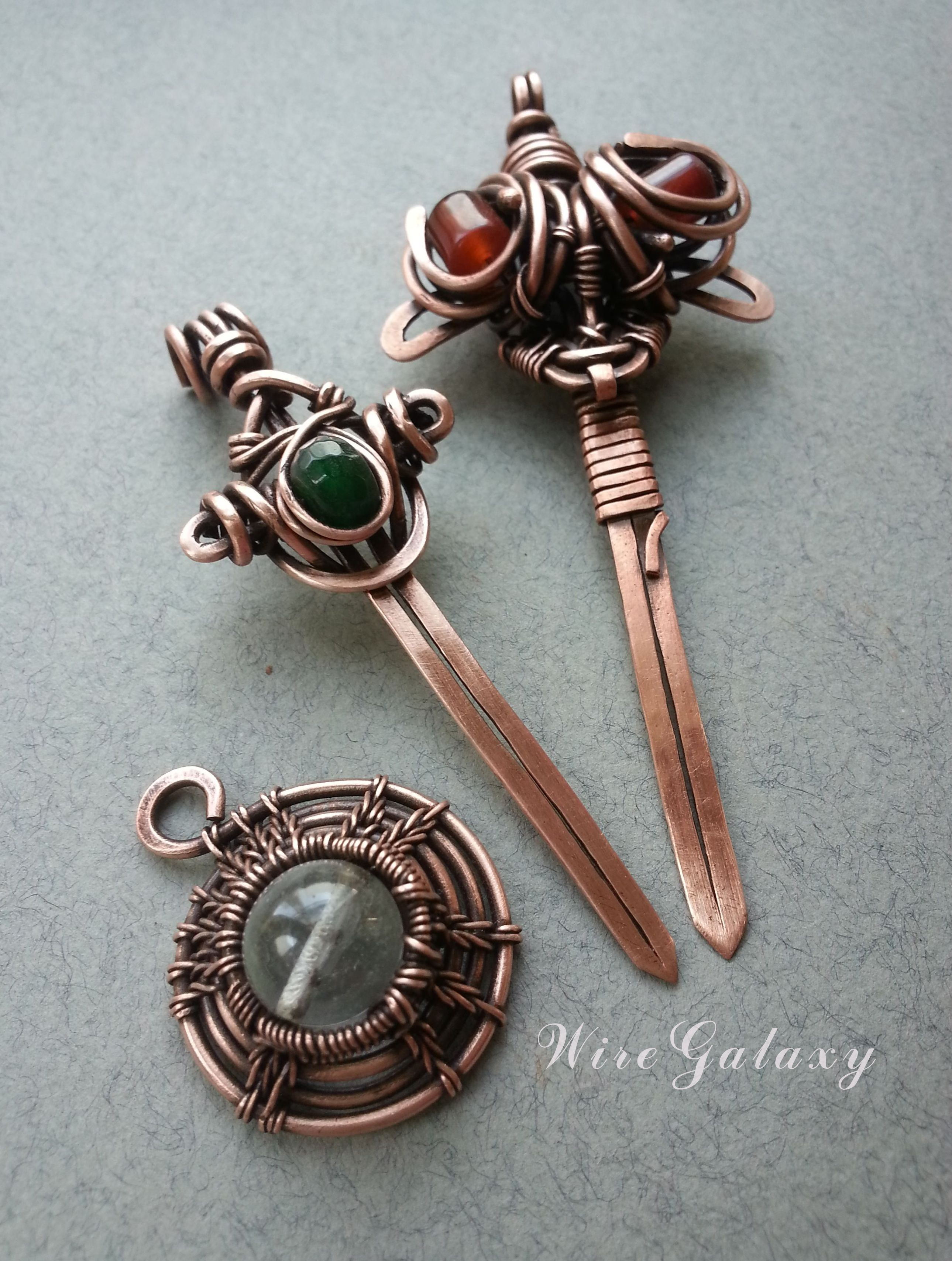 Copper wire pendants | Wire Jewelry - Pendants & Necklaces ...