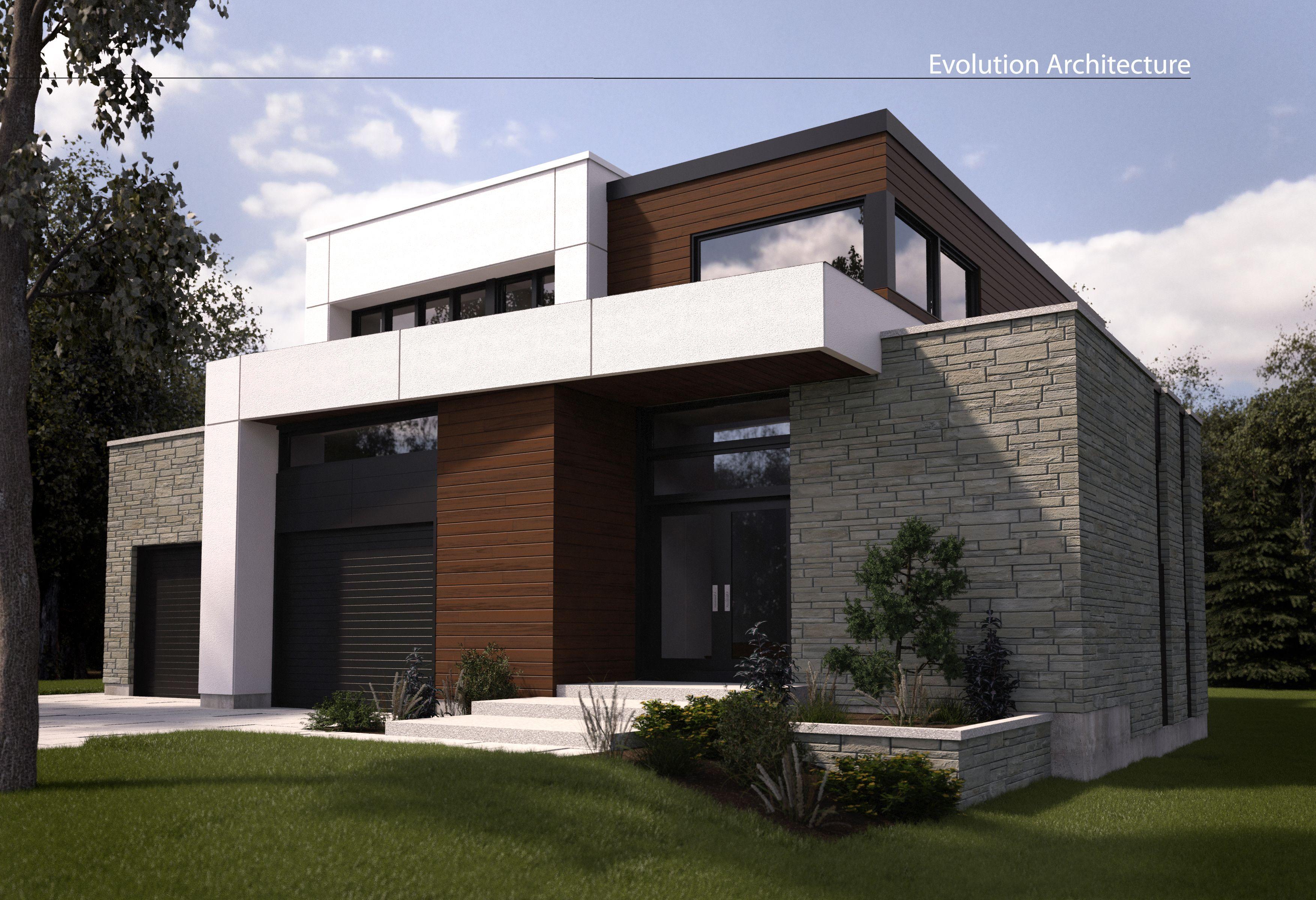 Evolution Architecturemaison modernecration exclusive E898  Villa pro  Modular home