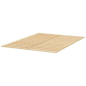Bed Slats Ikea Sultan Lade Slatted Bed Base For Queen Size Beds