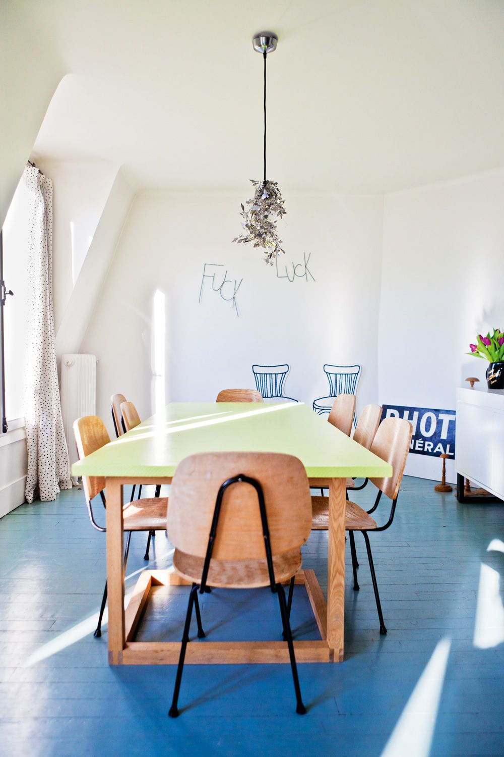 Whimsical space   Houses   Pinterest   Blue floor, Whimsical and Spaces
