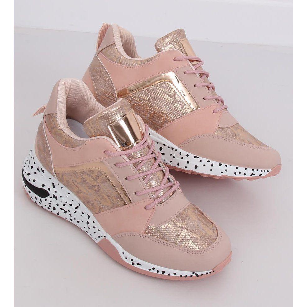 Buty Sportowe Na Koturnie Rozowe C131 Rosa Sneakers Nike Wedge Sneaker Nike Huarache