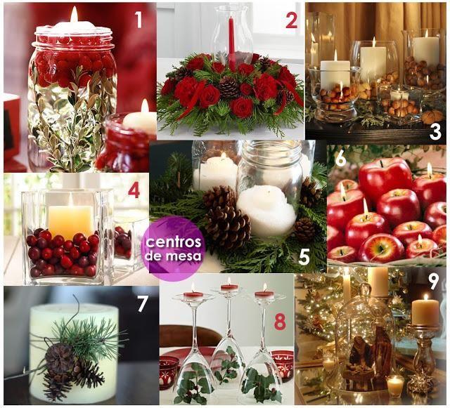 Viste tu casa de Navidad Casa de navidad, Centros de mesa y Adornos