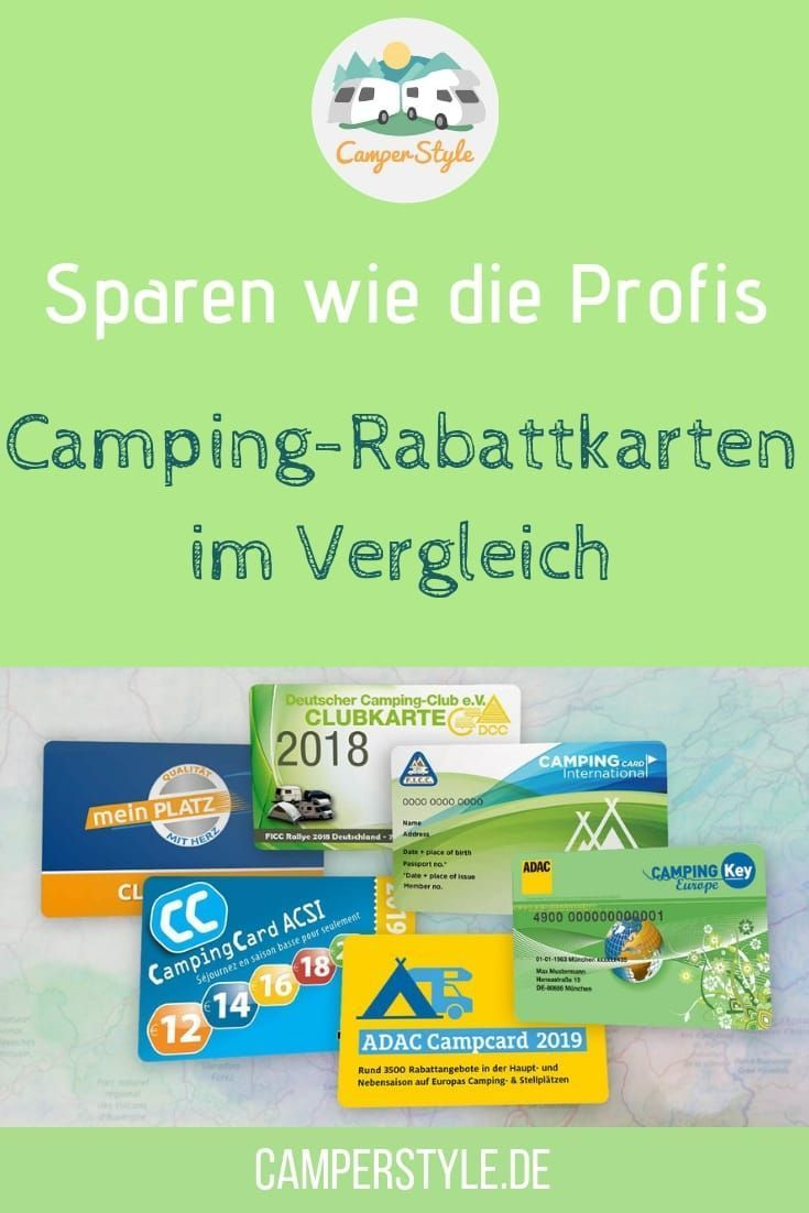 Photo of Save like the professionals: Camping discount cards in comparison