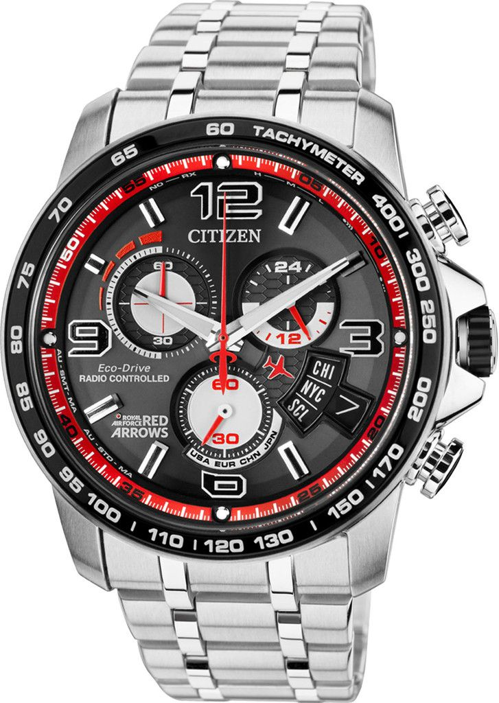 a8e451238 Citizen Watch Eco Drive Red Arrows Chrono Time A-T Limited Edition #alarm -yes…