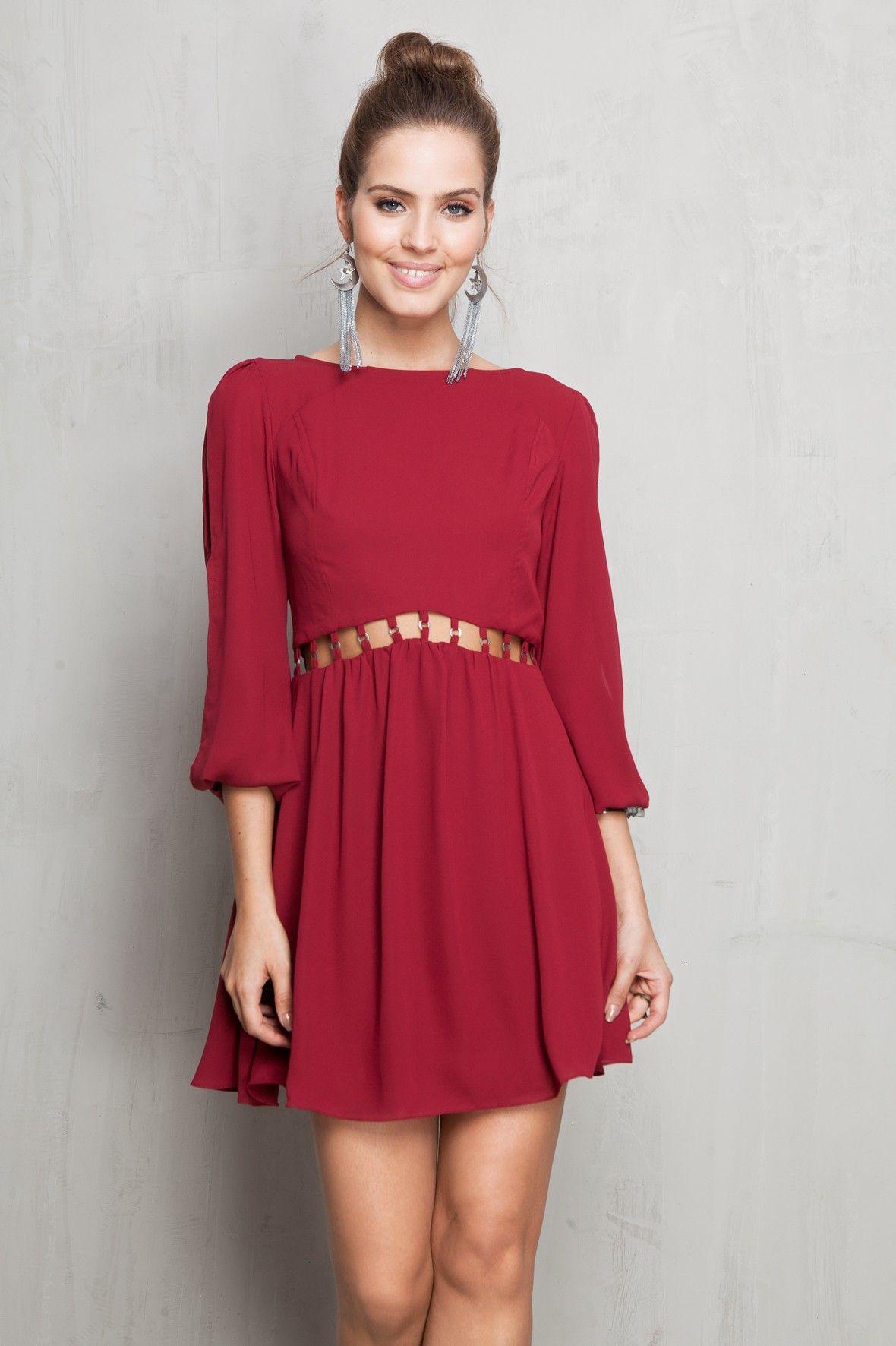 vestido argolinha cintura - Vestidos | Dress to