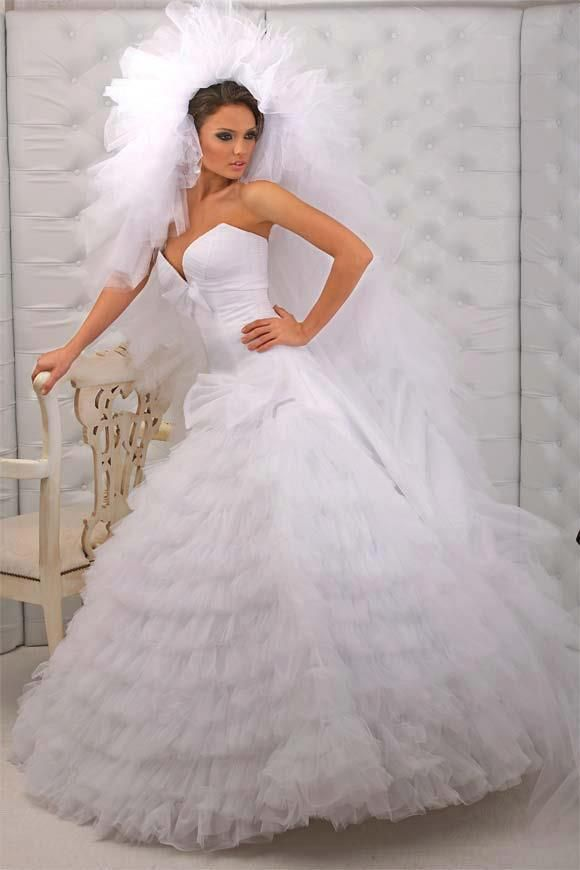 The 20 Most beautiful wedding dresses | Wedding dress, Reception and ...