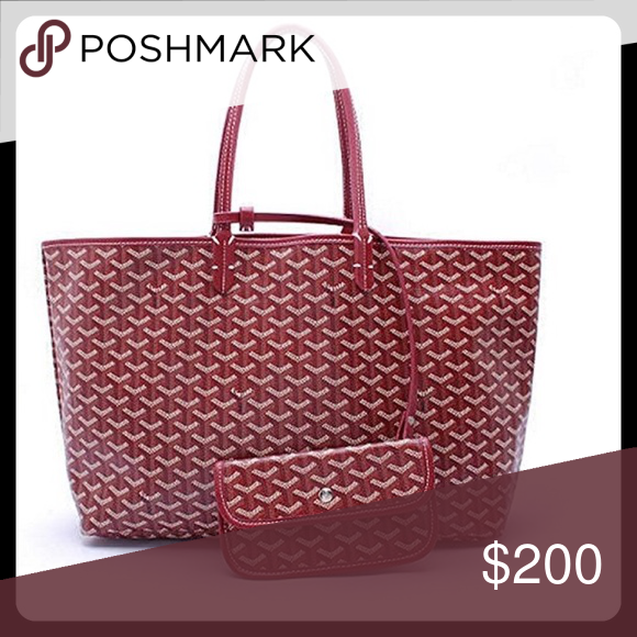 Goyard Chevron PM TOTE With Attached Wallet Goyard Inspired - Invoice template word 2010 goyard online store