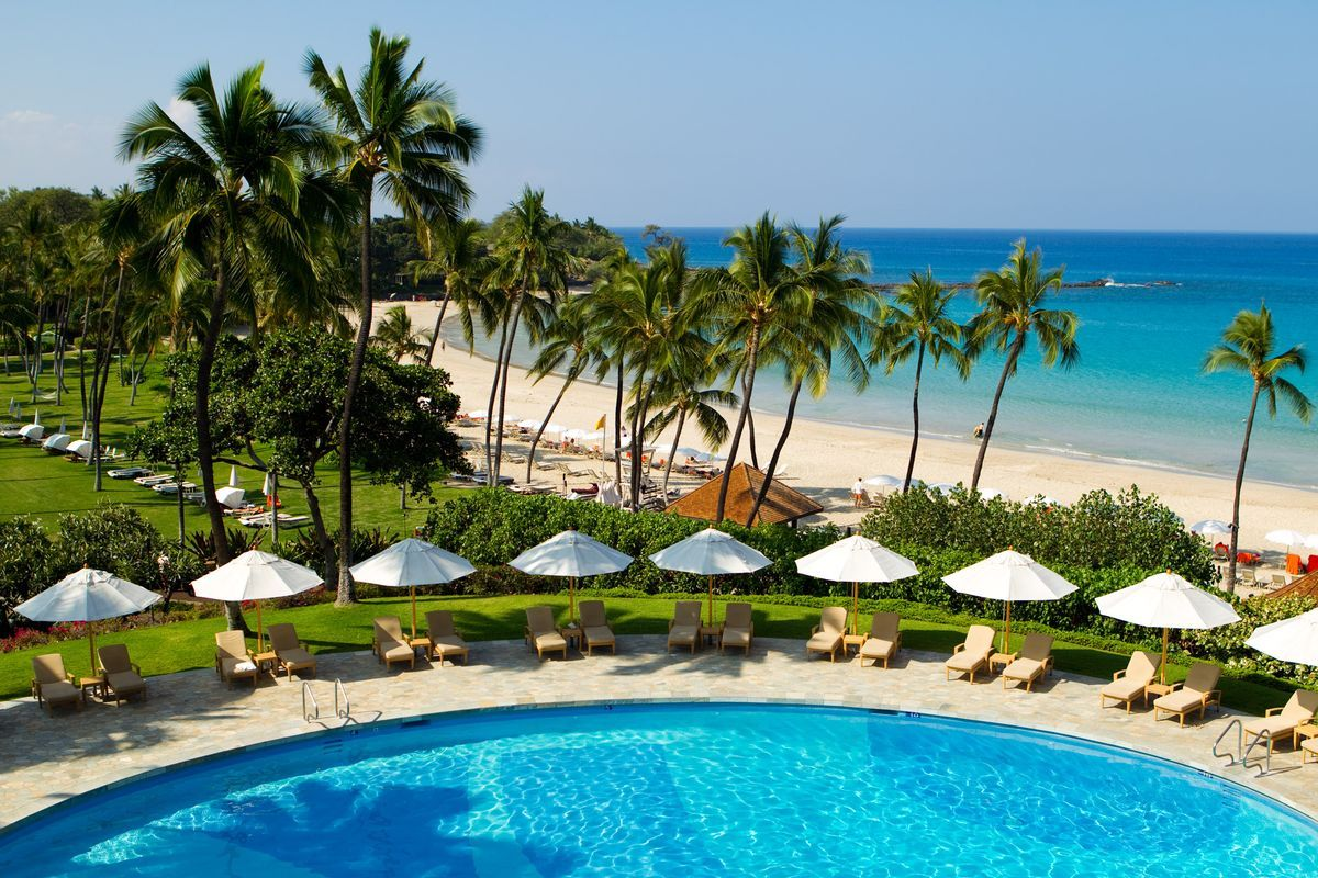 Mauna Kea Beach Hotel Hawaii Family Resorts All Inclusive Luxury
