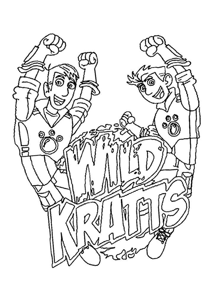 Wild Kratts Coloring Pages Movies And Tv Show Coloring