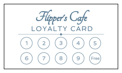 Reward Your Customers For Their Loyalty With This Printable Punch Card Template This Loyalty Loyalty Card Template Customer Loyalty Cards Card Templates Free