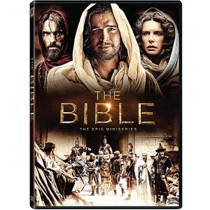 """The Bible: The Epic Mini Series   Includes: """"In the Beginning"""", """"Exodus"""", """"Homeland"""", """"Kingdom"""", """"Survival"""", """"Hope"""", """"Mission"""", """"Betrayal"""", """"Passion"""", and """"Courage""""."""