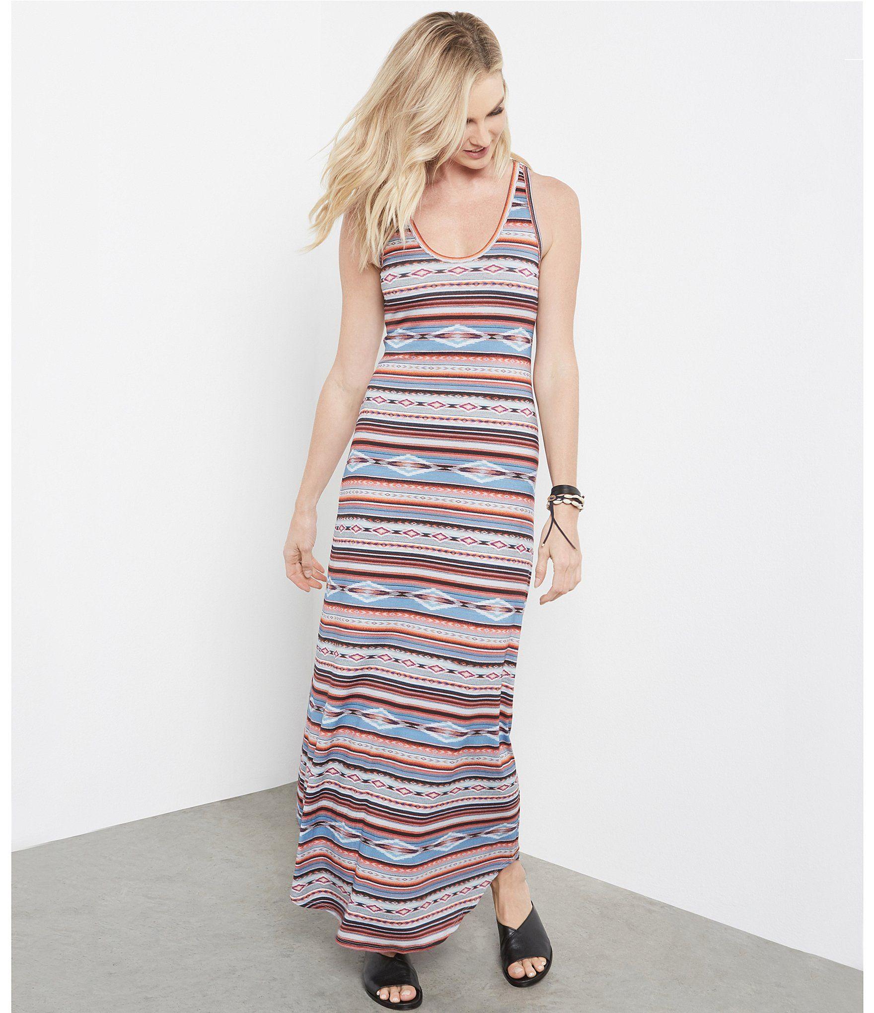 Karen Kane Stretch Knit Multi Stripe Printed Maxi Dress Dillards Maxi Dress Printed Maxi Dress Flowing Maxi Dress [ 2040 x 1760 Pixel ]