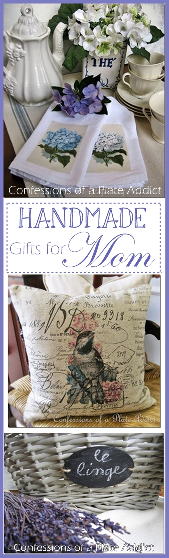 CONFESSIONS OF A PLATE ADDICT Easy Handmade Gift Ideas for Mom