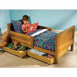 Toddler Bed With Storage Space Underneath Toddler Bed With