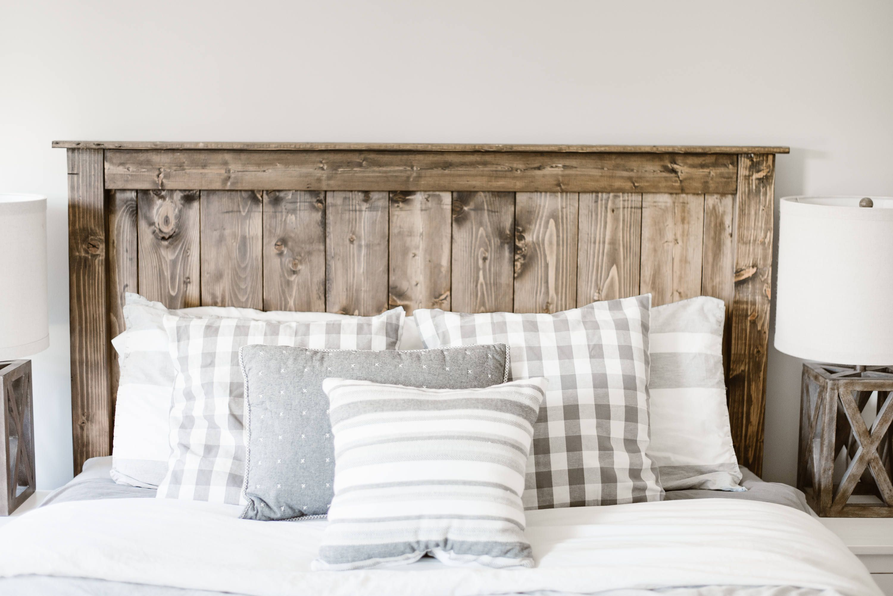 The Simple Farmhouse Wooden Headboard **LOCAL CUSTOMERS ONLY**