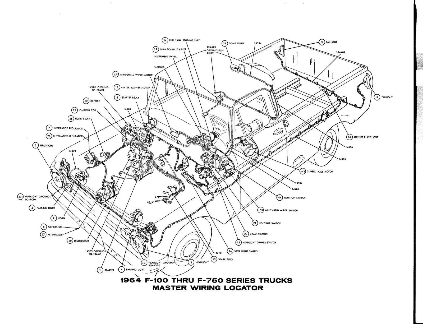 Pin By Scott C On 64 Ford F 100 Ford Truck 1964 Ford Diagram