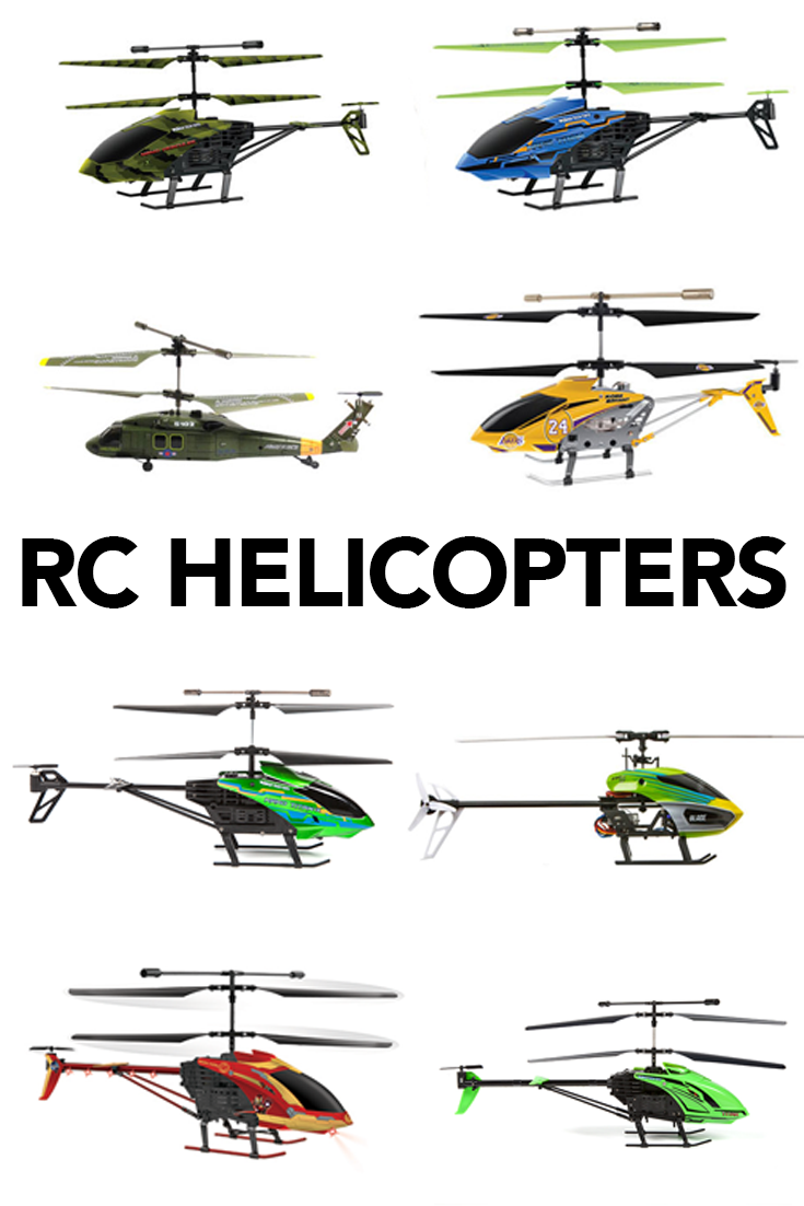 RC Helicopters are great gifts for people of all ages and skill