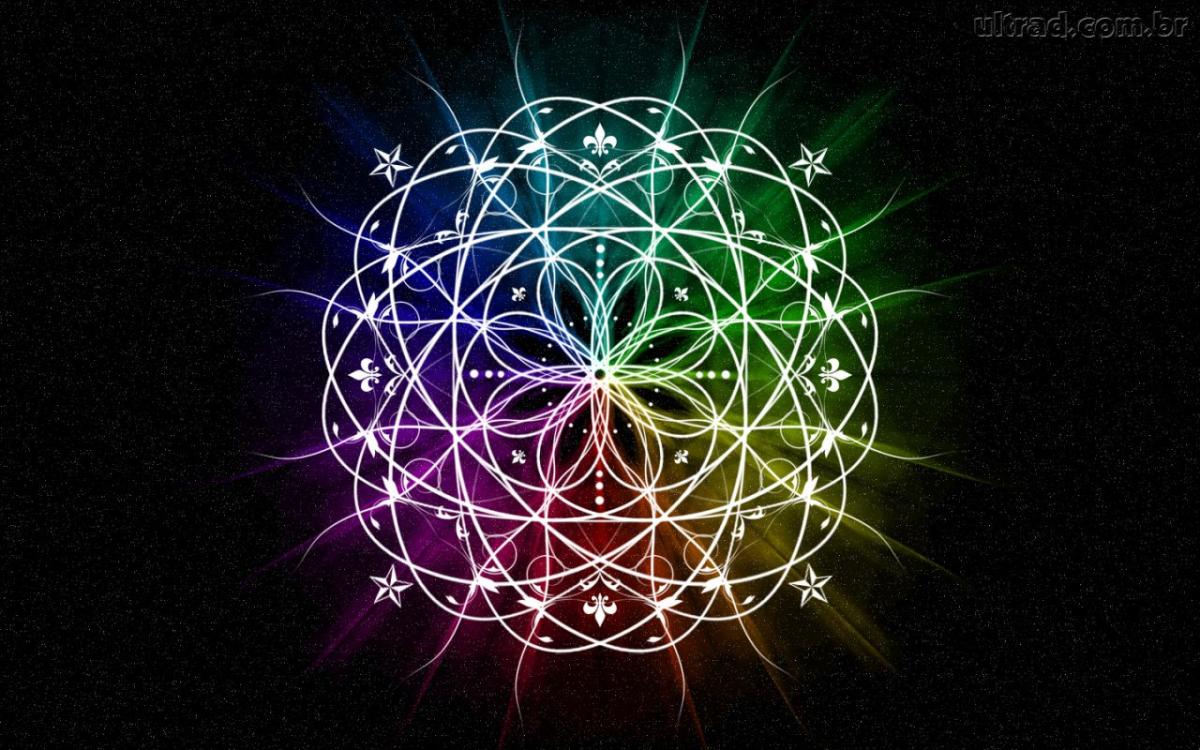 Mándala O Flor De La Vida En Sánscrito Significa Círculo Mágico