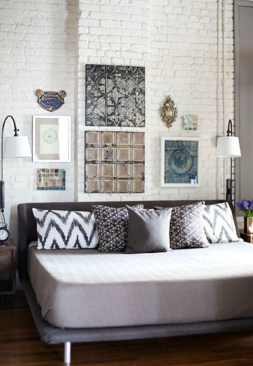 decoracion paredes cuadros deco living Pinterest Ideas para - decoracion de paredes
