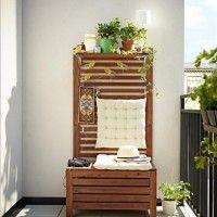 Piccolo Balcone Arredo Ikea Casa Esterni Best Outdoor