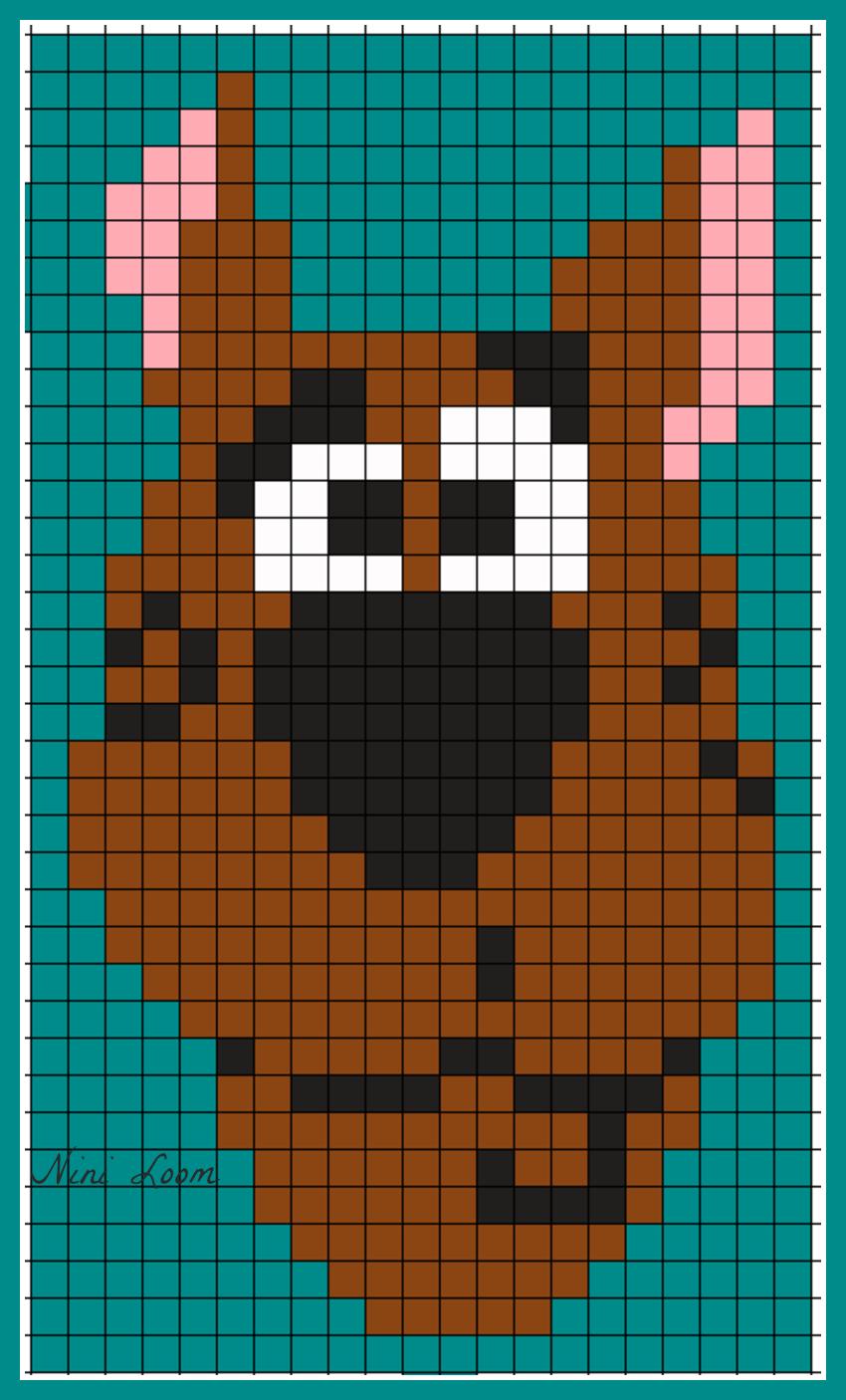 Image Du Blog Loomscenterblognet Dessin Pixel Pixel Art