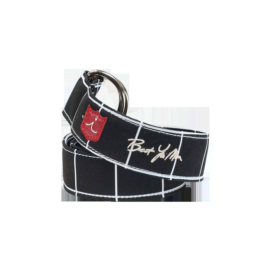 D - Ring Belt -Black Square  $115.00