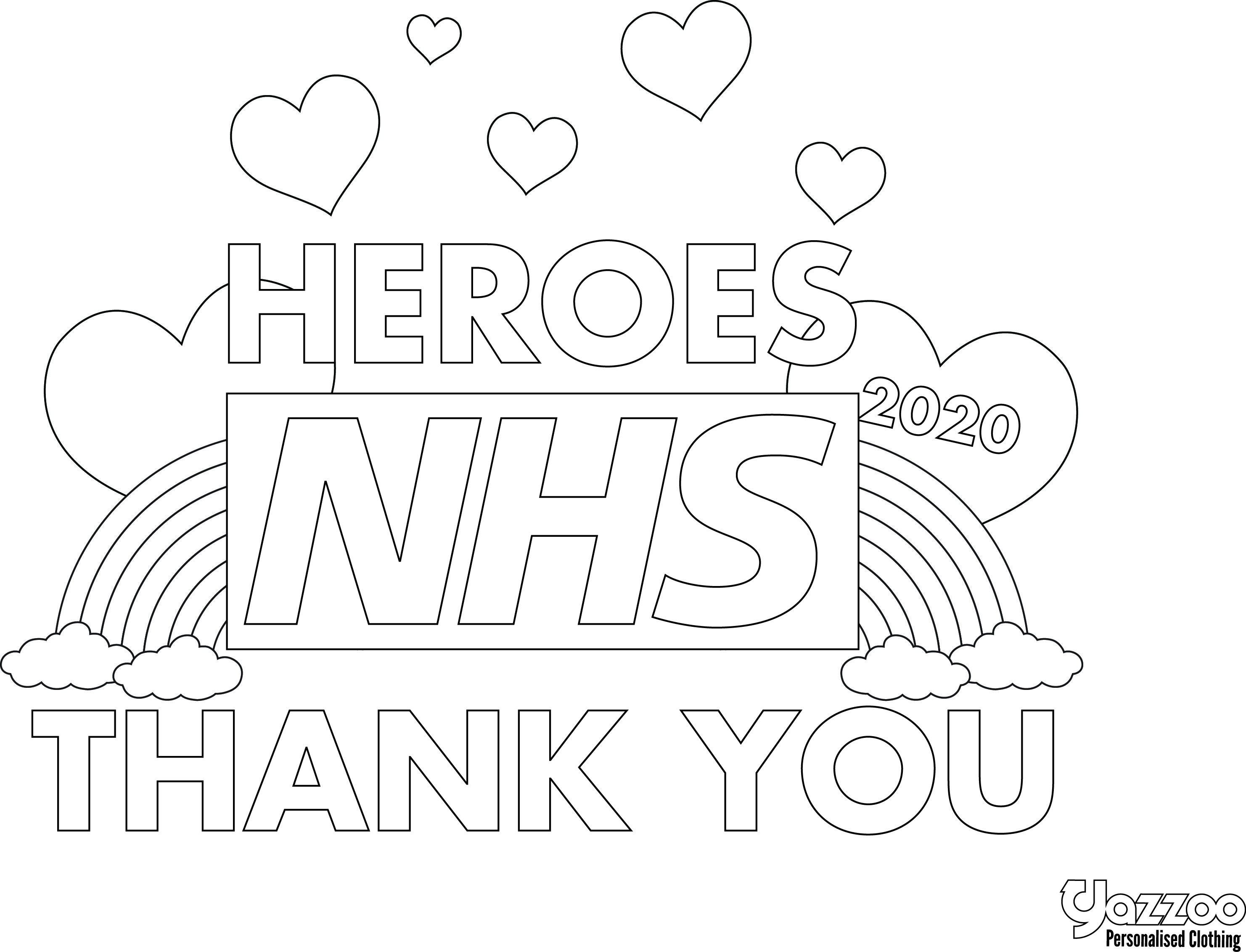 Nhs Thank You Fairy Tattoo Designs Coloring Sheets Coloring Pages