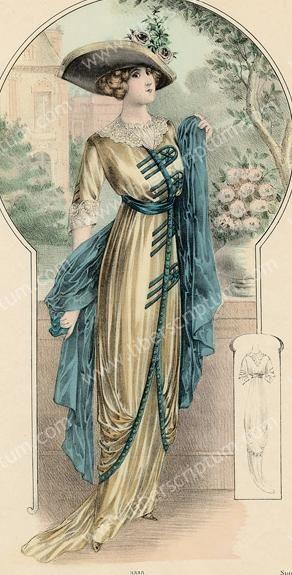 **1912 fashion plate:  The Barrington House