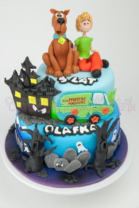 Scooby Doo Cake Tort Scooby Doo Cake by Edyta rogwojskiegopl