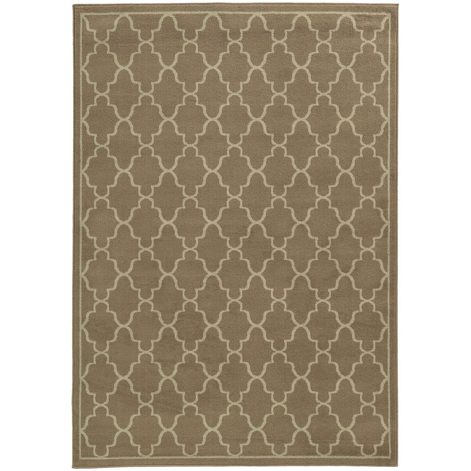 Runde Flache Teppiche Ella 5186c Grey Contemporary Rug By Oriental Weavers Products