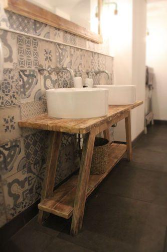 Details About Rustic Bathroom Vanity Sideboard Dressing