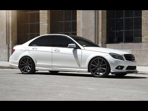 "Mercedes Benz C300 Vossen 20"" VFS1 Concave Wheels"