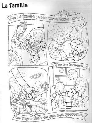 Mensajes E Imagenes De Familias Para Colorear Imagenes De Familia Actividades De La Familia Imagenes De Convivencia Escolar