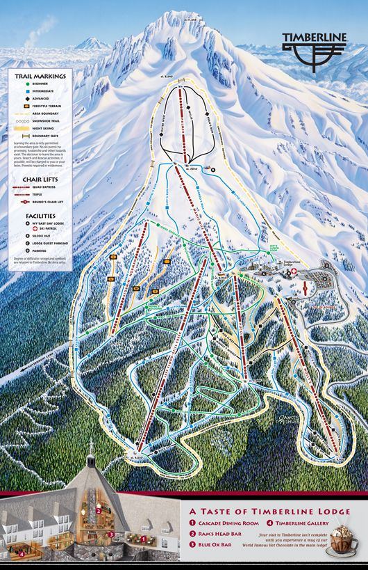 Mt Hood Timberline Oregon Skiing On Real Snow Resorts In Usa