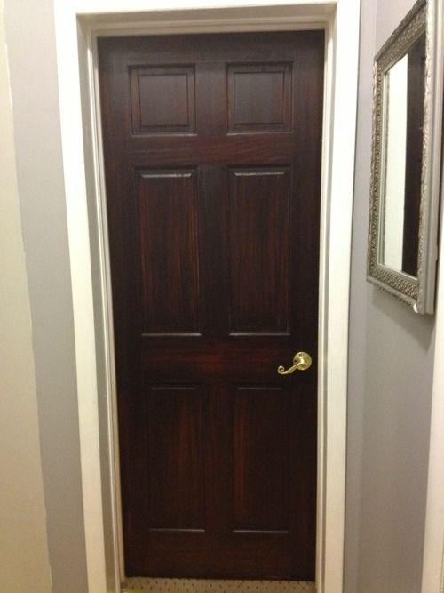 Diy Or Die General Finishes Java Gel Stained Dark Doors
