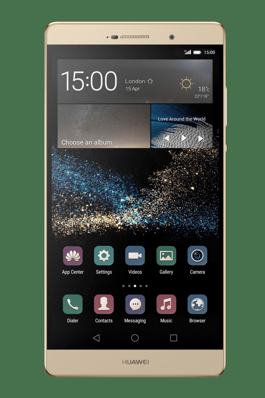 Golden Whide Huawai Smartphone PNG Image Huawei