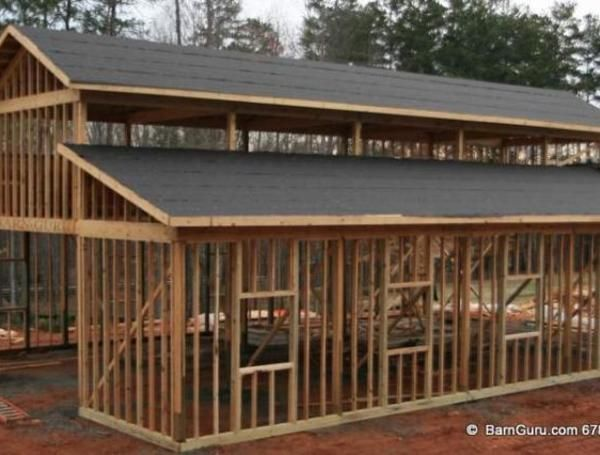 Monitor style pole barn plans barn structure ideas for Monitor barn designs