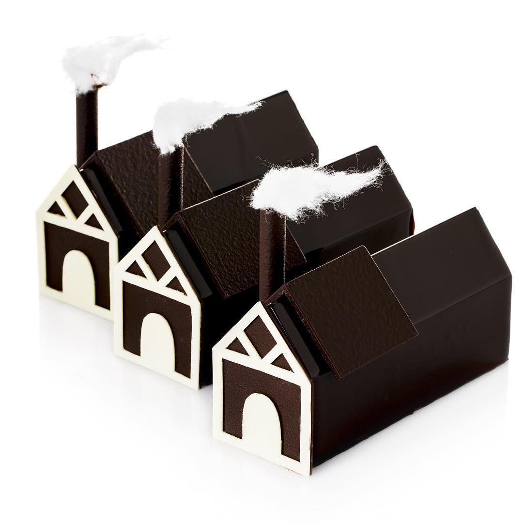 Pin en Casitas de galleta/Gingerbread houses