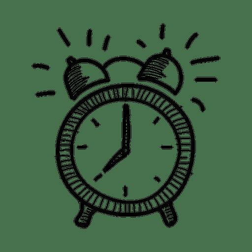 Hand Drawn Alarm Clock Icon Ad Affiliate Ad Drawn Icon Clock Hand In 2020 Clock Icon Clock Drawings Iphone Clock