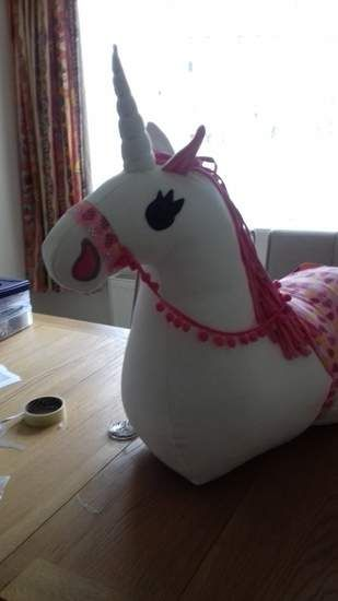 Ride-on plush horse pattern and instruction #horsepattern