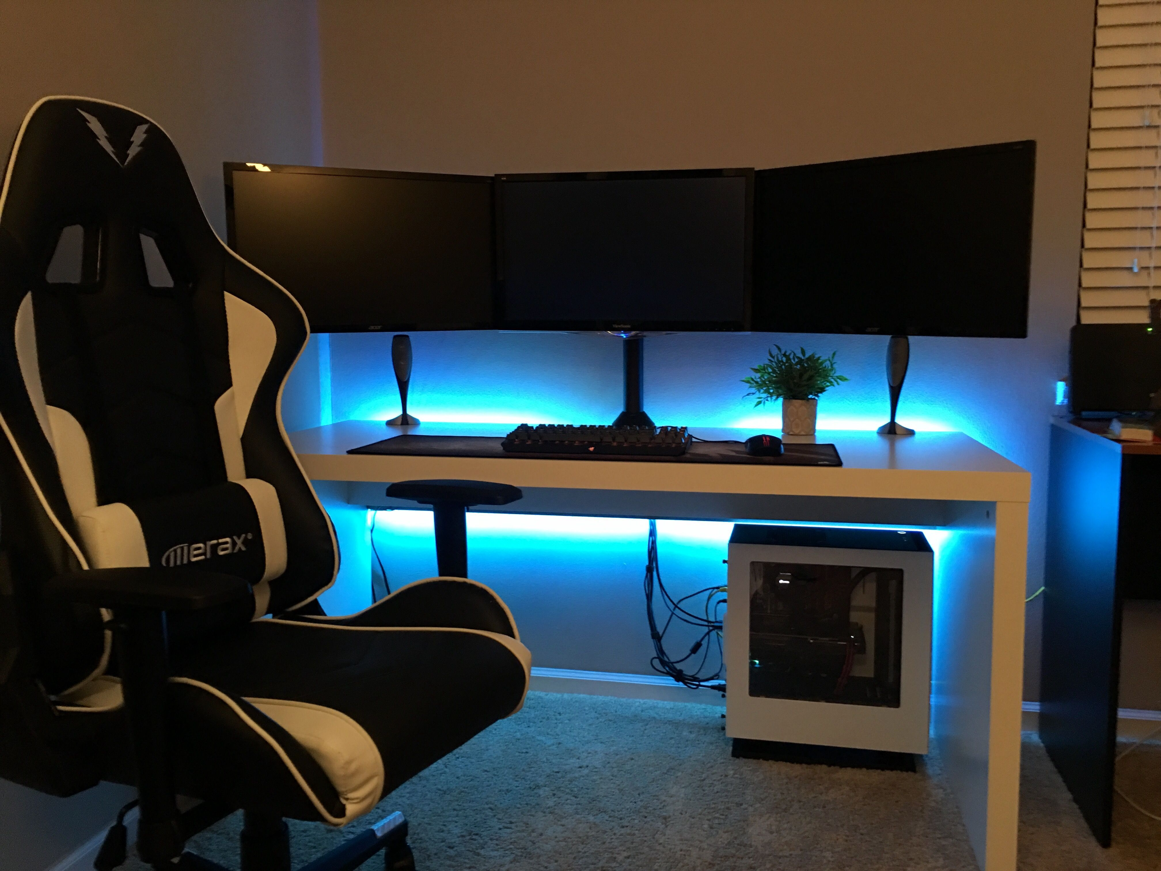 17 Most Popular Video Game Room Ideas [Feel The Awesome Game Play]   HOME  CBF. Pc Gaming SetupComputer ...